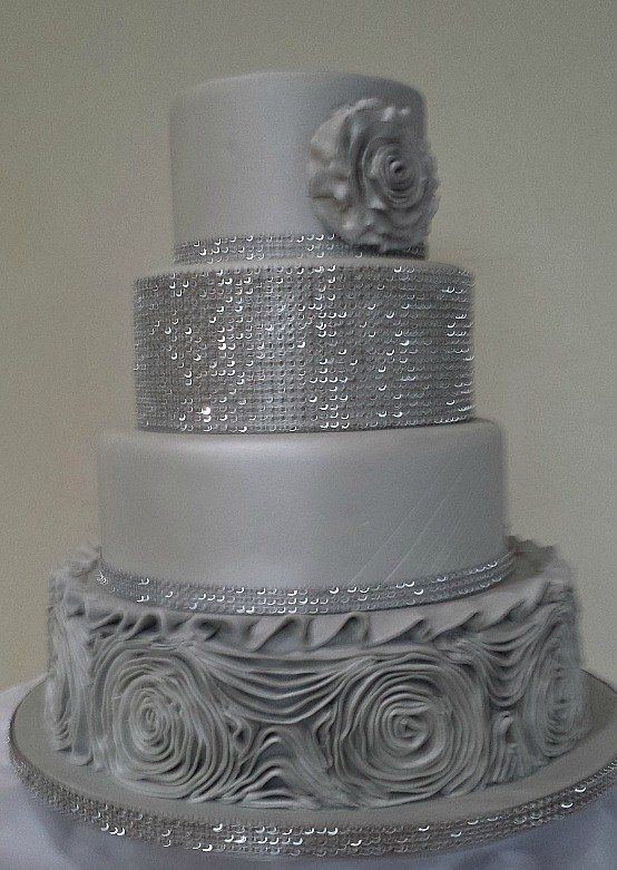 Red Diamante Wedding Cake Designs Sligo Leitrim Donegal Park Lane