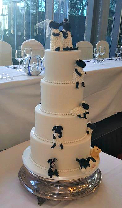 Farm Yard Wedding Cake WC29