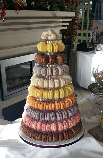 Wedding Macaroon Tower WC106