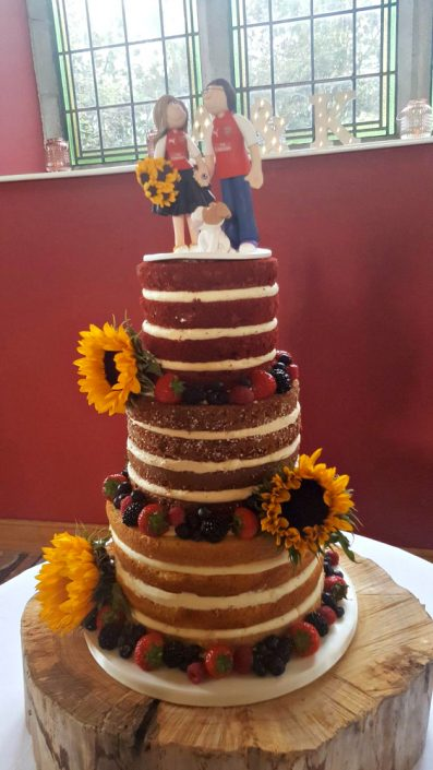 WC141 Novelty Couple Naked Wedding Cake