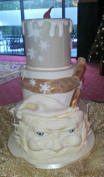 WC148 Santa Claus Wedding Cake