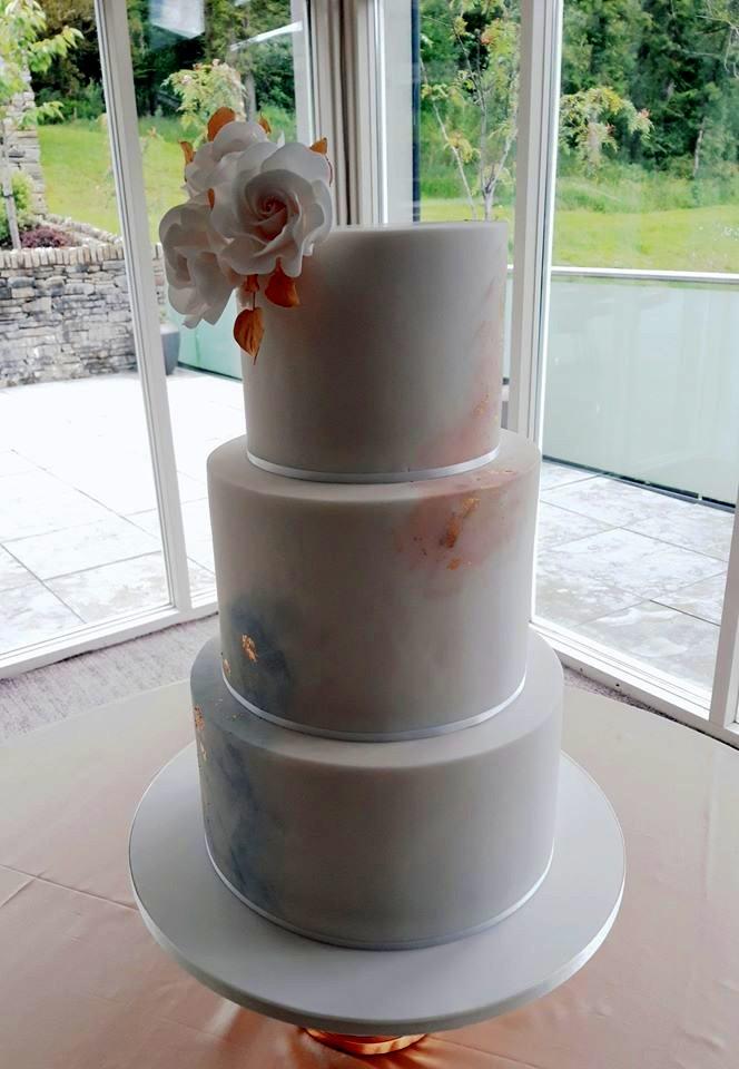 Blush Wedding Cake WC186