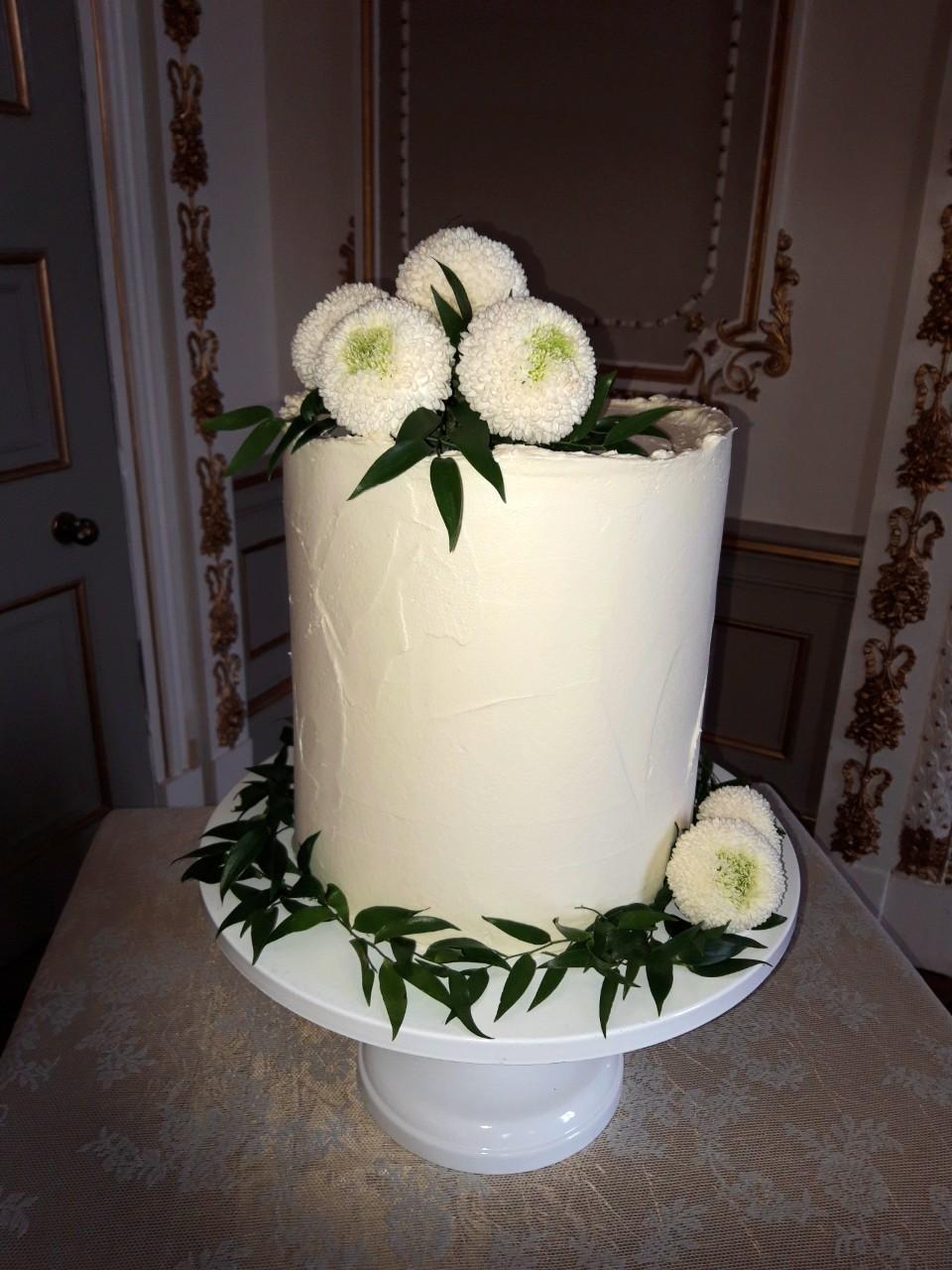 Flower Wedding Cake WC152